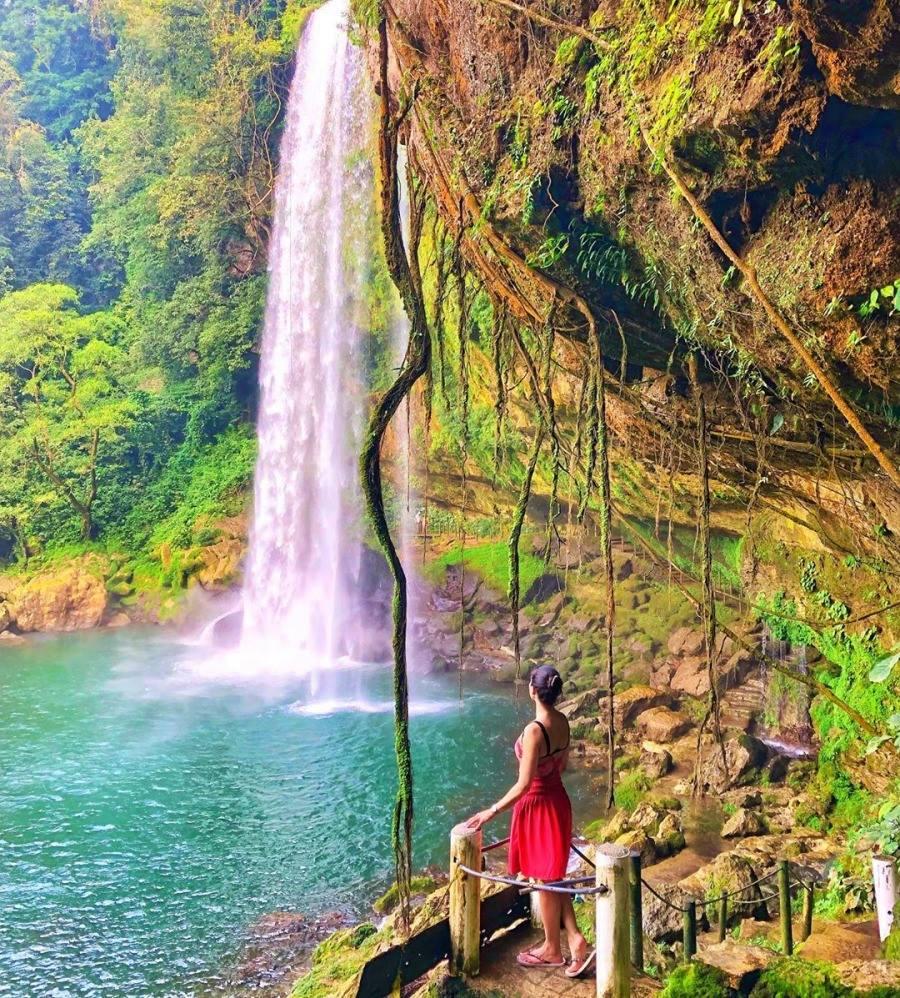 Caida de Agua Misol-ha Chiapas
