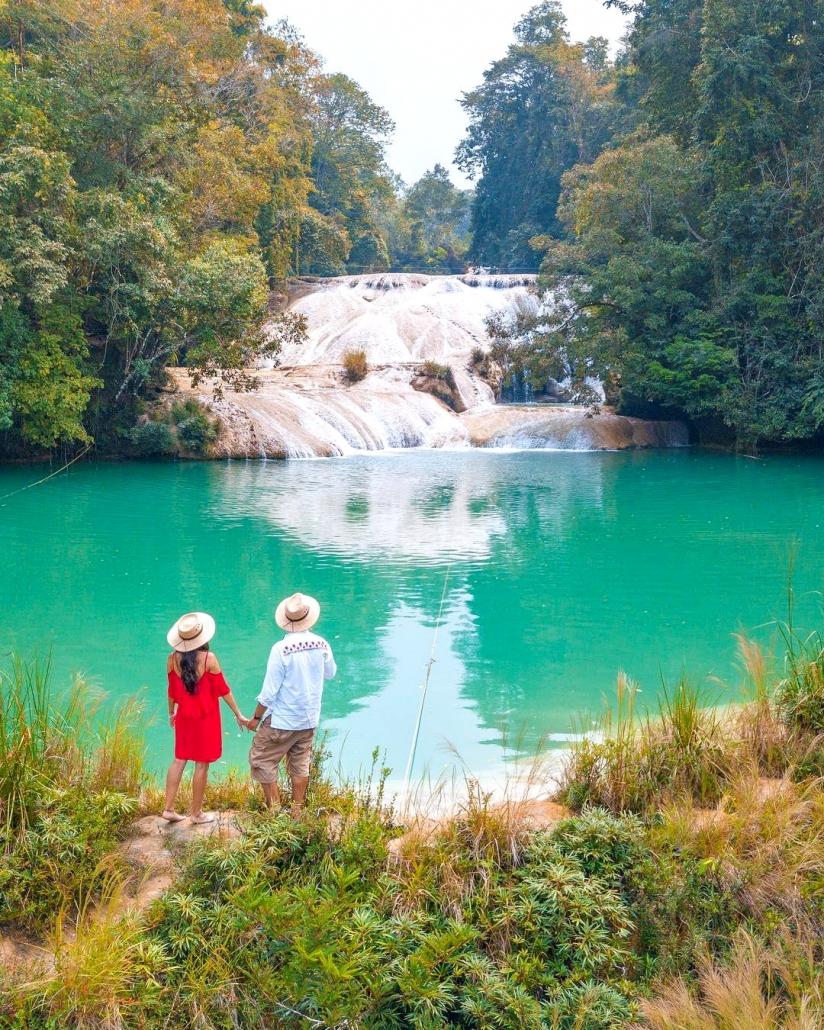Cascadas Roberto Barrios, Chiapas. México
